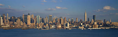 Harbor Dock Photograph - New York City Ny by Panoramic Images