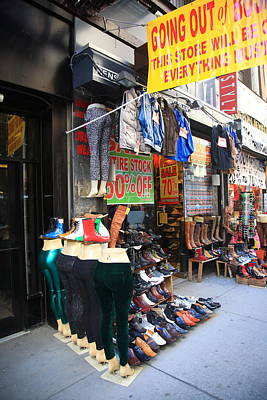 Photograph - New York City Storefront 8 by Frank Romeo