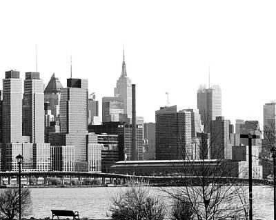 Photograph - New York City Skyline by Kathy Flood