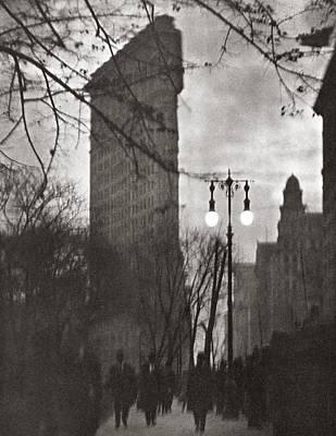 Pictorialism Photograph - New York Flatiron, 1912 by Granger