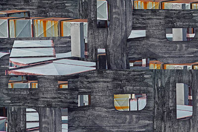 New York Rooftops Original by Susie Capezzone