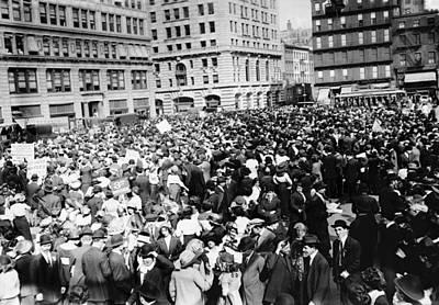 New York May Day, 1913 Art Print by Granger