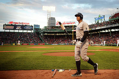 Photograph - New York Yankees V Boston Red Sox by Adam Glanzman