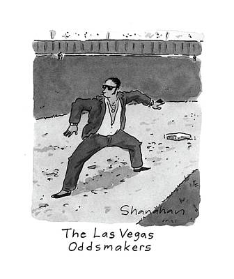 Baseball Uniform Drawing - New Yorker April 5th, 1993 by Danny Shanahan