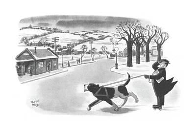 New Yorker February 20th, 1943 Art Print