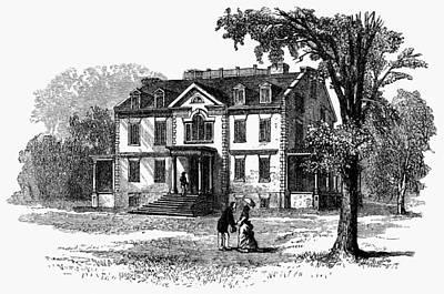 Newark Schuyler Mansion Art Print by Granger