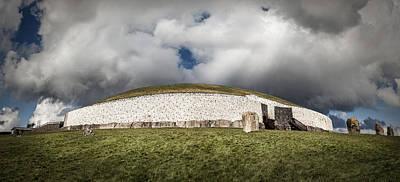 Photograph - Newgrange by George Pennock