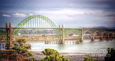 Photograph - Newport Bay Bridge by Susan Garren