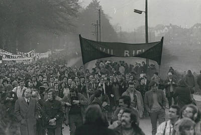 Newry March Passes Off Peacefully Art Print by Retro Images Archive