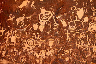 Newspaper Rock Art Print