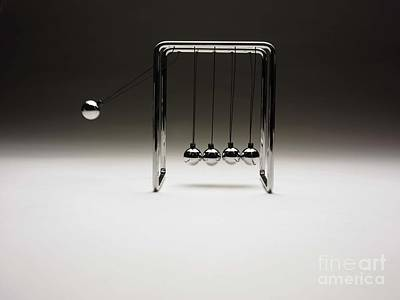 Invention Of Motion Photograph - Newtons Cradle by Tony McConnell