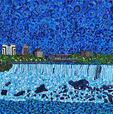 Niagara Falls Art Print by Micah Mullen