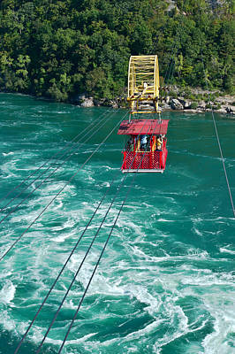 Niagara River Cable Car Art Print by Marek Poplawski