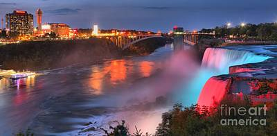 Photograph - Niagara River Panorama by Adam Jewell