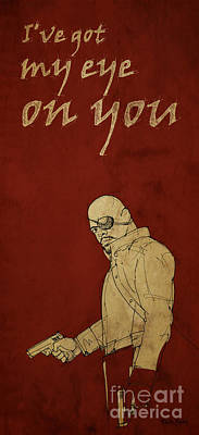 Comics Royalty-Free and Rights-Managed Images - Nick Fury - The Avengers by Drawspots Illustrations