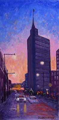 Night Street Original by J Loren Reedy
