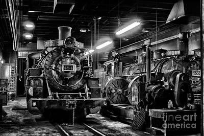 Photograph - Night Train by Jim McCain