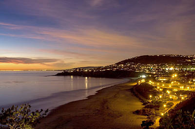 Photograph - Nightime Over Salt Creek Beach by Cliff Wassmann