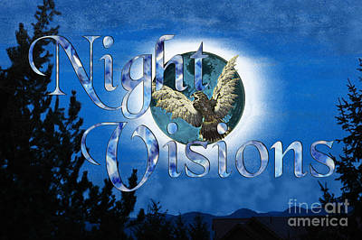Digital Art - Nightvisions by Asegia