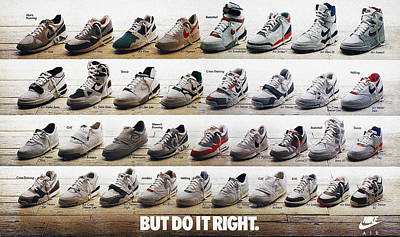 Nike Photograph - Nike Advertisement, 1988 by Granger