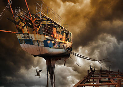 Wind Photograph - Nimfa by Radoslav Penchev