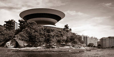 Photograph - Niteroi Art Museum by Celso Diniz