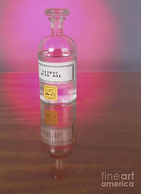 Nitric Acid Art Print by Andrew Lambert Photography