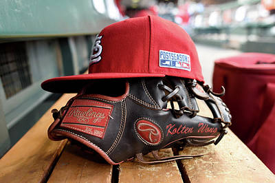 Photograph - Nlcs - St Louis Cardinals V San by Thearon W. Henderson