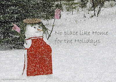 January Photograph - No Place Like Home by LeeAnn McLaneGoetz McLaneGoetzStudioLLCcom