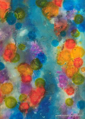 Mixed Media - No Rain by Jane Biven