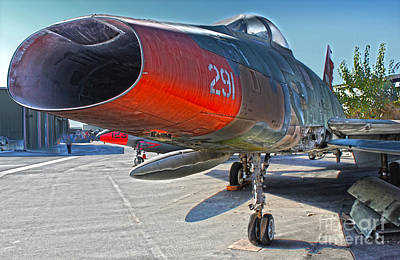 Photograph - North American Super Sabre Qf-100d by Gregory Dyer