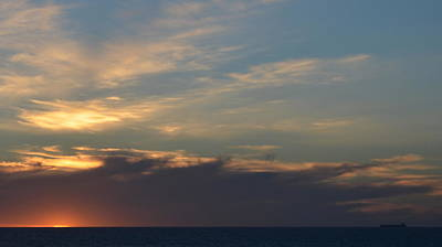 Photograph - North Beach Sunset 1.4 by Cheryl Miller