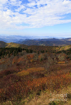 Photograph - North Carolina Mountains by Jill Lang