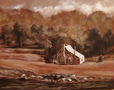 North Carolina Remembered Art Print by Diane Kraudelt