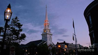 Photograph - North Church Of Portsmouth. by New England Photography