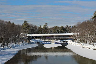 Photograph - North Conway Covered Bridge  by Jeffery Akerson