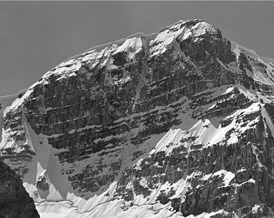 Photograph - 103779-bw-el-north Face Mt. Andromeda Bw by Ed  Cooper Photography
