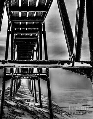Photograph - North Pier Perspective by Jim Rossol