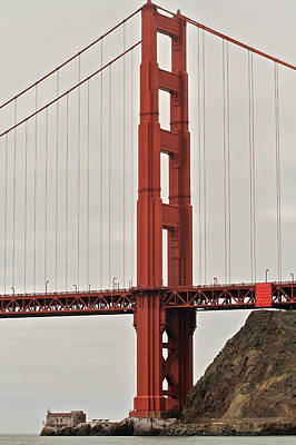 Photograph - North Tower Golden Gate by Steven Lapkin