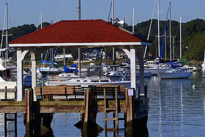 Northport Dock Art Print