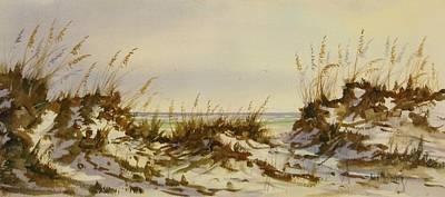 Sanddunes Painting - Northwest Florida by John McDonald