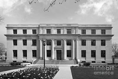 Photograph - Northwestern University Harris Hall by University Icons