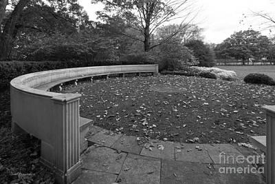 Photograph - Northwestern University Weinberg Garden by University Icons