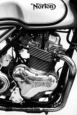 Photograph - Norton Commando 961 Sport Monochrome by Tim Gainey