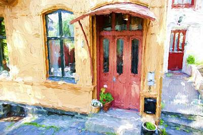 Photograph - Norway Door by Bill Howard