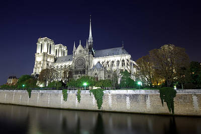 Notre Dame Cathedral Art Print by Ioan Panaite