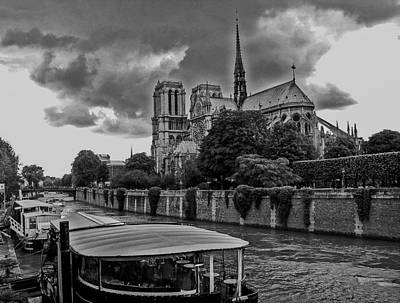 Photograph - Notre Dame In Paris by Dany Lison