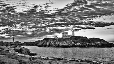 Photograph - Nubble Lighthouse - Maine by Steven Ralser