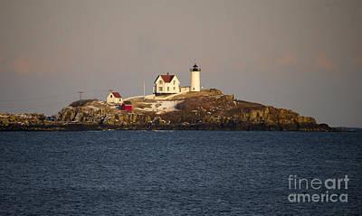 Photograph - Nubble Lighthouse by Steven Ralser