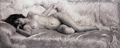 Boudoir Digital Art - Nude by Giacomo Grosso